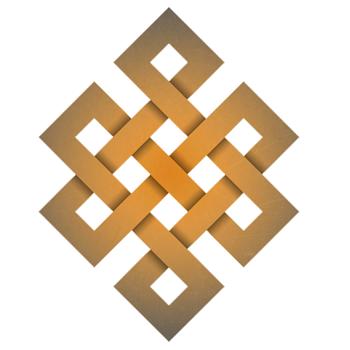 symboles bouddhistes en mongolie noeud sans fin ulzii soyombo par absolu voyages. Black Bedroom Furniture Sets. Home Design Ideas